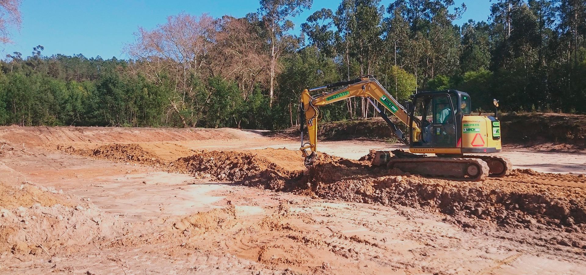 Construção de Pistas